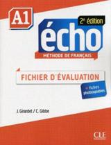 Echo A1 - 2e édition - FICHIER EVALUATION + CD