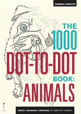 1000 Dot-to-Dot Book: Animals