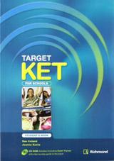 TARGET KET for schools Student´s Pack (SB + CDR)