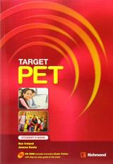 TARGET PET Student´s Pack (SB + CDR)