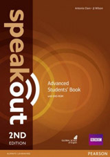 Speakout 2nd Edition Advanced Student´s Book and DVD-ROM