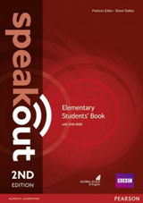 Speakout 2nd Edition Elementary Student´s Book and DVD-ROM