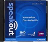 Speakout 2nd Edition Intermediate Class CDs (2)