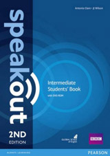 Speakout 2nd Edition Intermediate Student´s Book and DVD-ROM