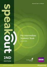 Speakout 2nd Edition Pre- Intermediate Student´s Book and DVD-ROM