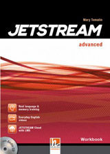 Jetstream Advanced Workbook with Workbook Audio CD & e-zone