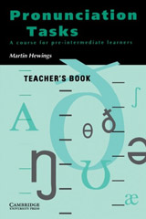 Pronunciation Tasks Teacher´s Book