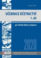 Učebnice Účetnictví 2020 - 1. díl