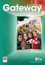 Gateway 2nd Edition B1+ Student´s Book Pack