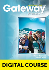 Gateway 2nd Edition B2+ Digital Student´s Book Pack