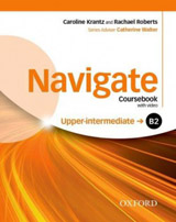 Navigate Upper Intermediate B2 Coursebook with DVD-ROM, eBook, eWorkbook & Online Skills
