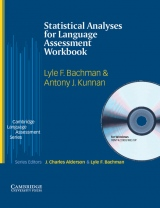 Statistical Analyses for Language Assessment Workbook and CD-ROM