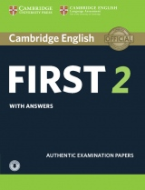 Cambridge English First 2 Student´s Book with Answers and Audio Download