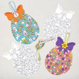Tvořivé malování - velikonoční vajíčko