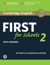 Cambridge English First for Schools 2 Student´s Book with answers and Audio Download