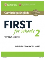 Cambridge English First for Schools 2 Student´s Book without answers