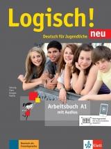Logisch! neu 1 (A1) - Arbeitsbuch + online MP3