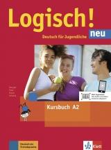 Logisch! neu 2 (A2) - Kursbuch + online MP3