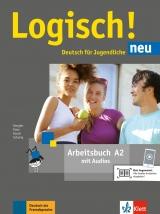 Logisch! neu 2 (A2) - Arbeitsbuch + online MP3