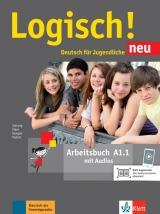 Logisch! neu A1.1 - Arbeitsbuch + online MP3
