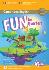 Fun for Starters 4th Edition Student´s Book with audio with online activities