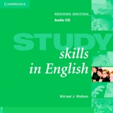Study Skills in English Second Edition Audio CD