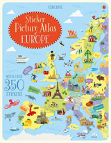 Sticker picture atlas of Europe