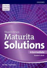 Maturita Solutions 3rd Edition Intermediate Student´s Book Czech Edition