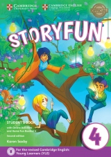 Storyfun for Movers Level 4 Student´s Book with Online Activities and Home Fun Booklet