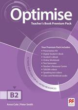 Optimise B2 (Upper Intermediate) Teacher´s Book Premium Pack