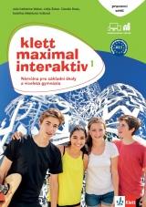 Klett Maximal Interaktiv 1 (A1.1) - pracovní sešit barevný s kódem k interaktivnímu obsahu