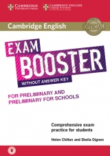 Cambridge English Exam Booster for PET and PET for Schools without Answer Key with downloadable Audio