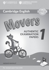 Cambridge English Young Learners 1 for revised exam from 2018 Movers Answer Booklet