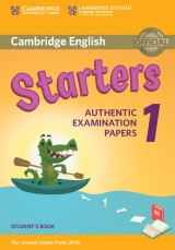 Cambridge English Young Learners 1 for revised exam from 2018 Starters Student´s Book