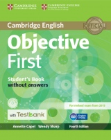 Objective First Student´s Book without Answers + CD-ROM + Testbank