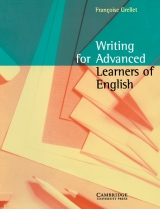 Writing for Advanced Learners of English Student´s Book