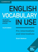 English Vocabulary in Use Pre-intermediate and Intermediate with answers, 4. edice