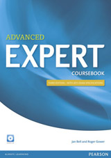Expert Advanced 3rd Edition Coursebook with CD