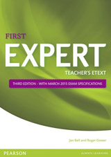 Expert First 3rd Edition Teacher´s eText disc for Interactive Whiteboard