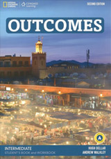 Outcomes (2nd Edition) Intermediate A Combo (Split Edition - Student´s Book & Workbook) with Class DVD-ROM & Workbook Audio CD