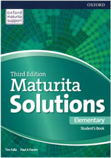 Maturita Solutions 3rd Edition Elementary Student´s Book Czech Edition