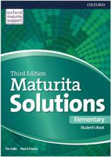Maturita Solutions 3rd Edition Elementary Student´s Book Czech Edition