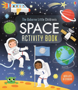 Little children´s space activity book