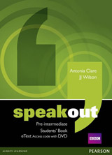 Speakout Pre-intermediate Student´s Book eText Access Card with DVD