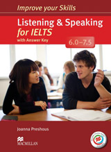 Improve Your Skills for IELTS 6-7.5 Listening & Speaking Student´s Book with Key, Audio CDs (2) & Macmillan Practice Online