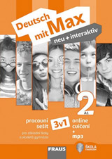 Deutsch mit Max neu + interaktiv 2 Pracovní sešit černobíly