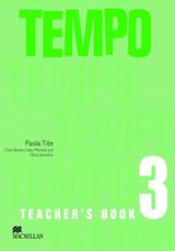 Tempo 3 Teacher´s Book