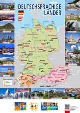 Mapa Deutschsprachige Länder