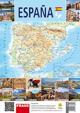 Mapa Espaňa