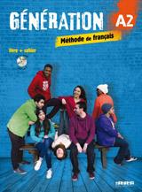 Génération A2 učebnice + pracovní sešit + CD + DVD (komplet)